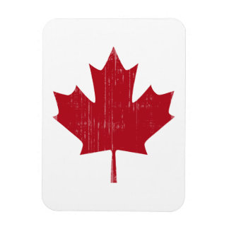 CANADA FLAG FADED MAGNET