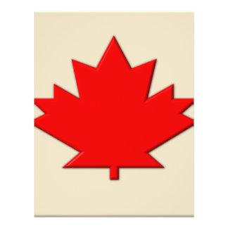 Canada Flag 21.5 Cm X 28 Cm Flyer