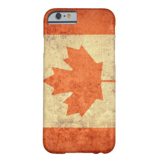 Canada Flag - Grunge Barely There iPhone 6 Case