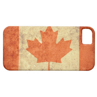 Canada Flag - Grunge iPhone 5 Cover