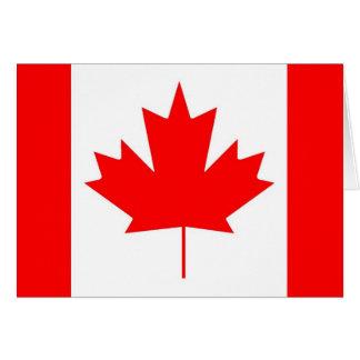 Canada flag, Happy Canada Day Card