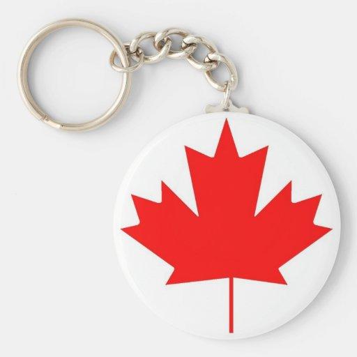 Canada flag, Happy Canada Day Key Chain