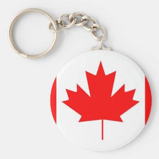 Canada flag Happy Canada Day Keychain