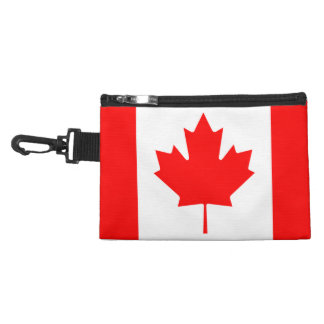 Canada 🇨🇦 Flag maple leaf clip on travel bag Accessories Bags
