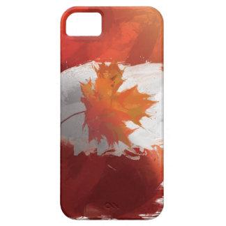 Canada Flag Painting iPhone / iPad case