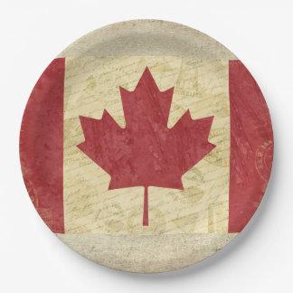 Canada Flag Paper Plates