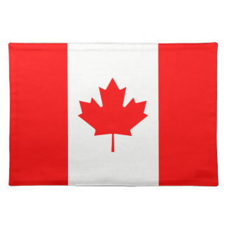 Canada flag placemat