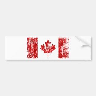 Canada Flag Pride Car Bumper Sticker