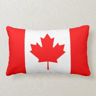 Canada flag quality lumbar cushion