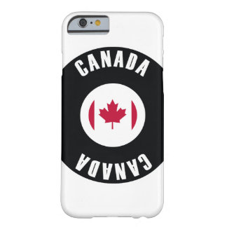 Canada Flag Simple Barely There iPhone 6 Case