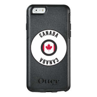 Canada Flag Simple OtterBox iPhone 6/6s Case