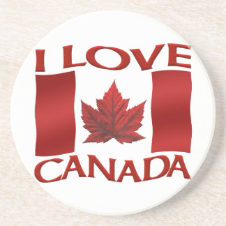Canada Flag Souvenir Coaster Cusrom Canada Gifts Drink Coaster