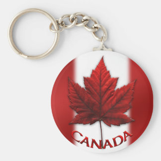 Canada Flag Souvenir Key Chain & Canada Maple Leaf
