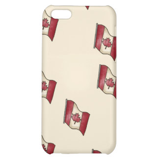 Canada Flag Speck® Fitted™ Hard Shell Case iPhone Cover For iPhone 5C