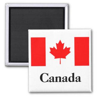Canada Flag Square Magnet