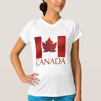 Canada Flag T-shirts Souvenirs Canada Sports Shirt