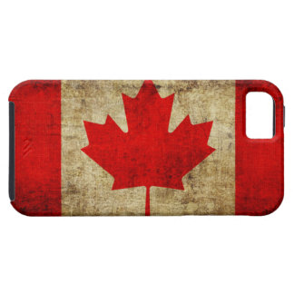 Canada Flag Tough iPhone 5 Case