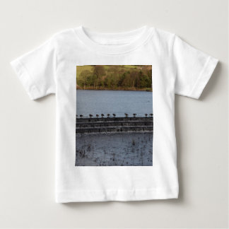 Canada Geese All In A Row Baby T-Shirt