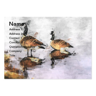 Canada Geese  Business Card