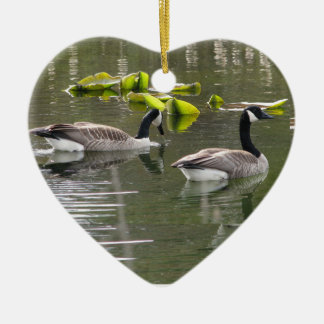 Canada Geese Christmas Ornament
