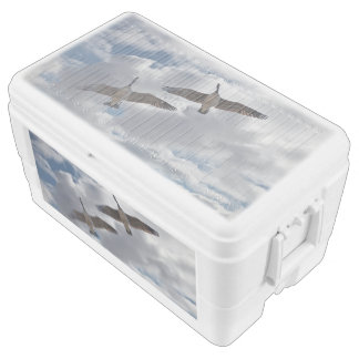 CANADA GEESE ICE CHEST