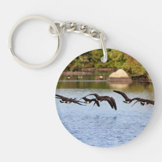 Canada Geese Key Ring