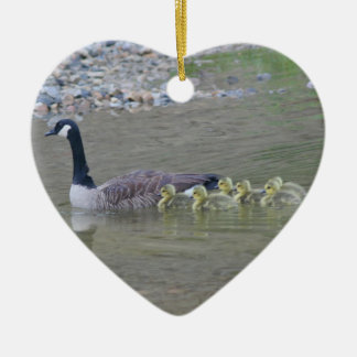 Canada Goose Babies 3 Animal Ornament