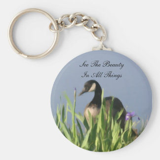 Canada Goose Beauty Inspirational Key Ring