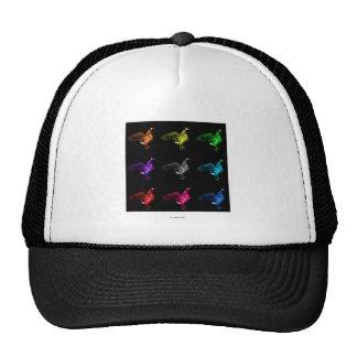canada goose bird art cap