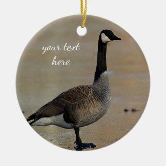 Canada goose christmas ornament