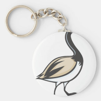 Canada Goose Basic Round Button Key Ring
