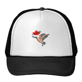 CANADA GOOSE MAPLE LEAF MESH HATS