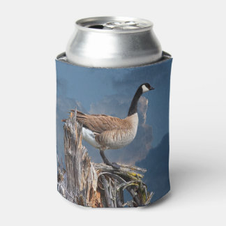 CANADA GOOSE ON A SNAG CAN COOLER