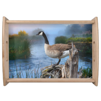 CANADA GOOSE ON THE SHASTA SERVING TRAY