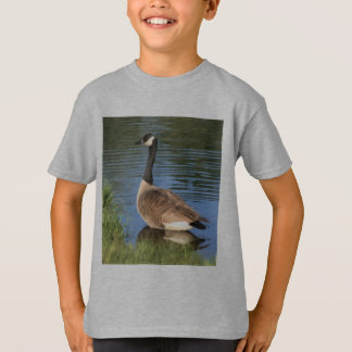 Canada Goose Painting Kids Shirt
