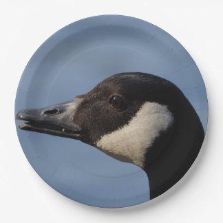 Canada Goose Paper Plates