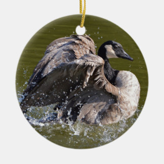 Canada Goose With Attitude Christmas Ornament