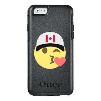 Canada Hat Kiss Emoji OtterBox iPhone 6/6s Case
