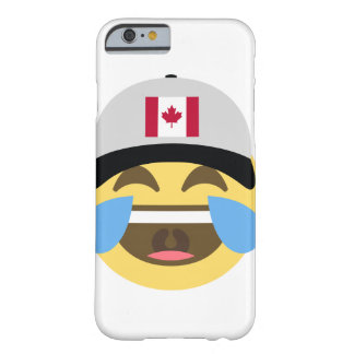Canada Hat Laughing Emoji Barely There iPhone 6 Case