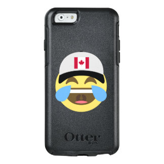 Canada Hat Laughing Emoji OtterBox iPhone 6/6s Case