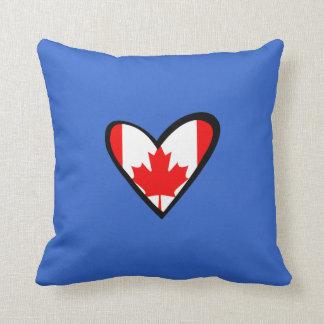Canada heart Flag Cushion