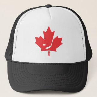 Canada Hockey Maple Leaf Trucker Hat