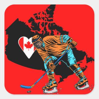 CANADA HOCKEY STICKERS