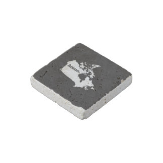 Canada Home Stone Magnet