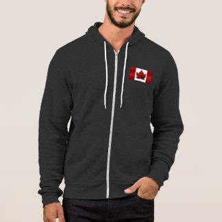 Canada Hoodie Canada Flag Hooded Jacket