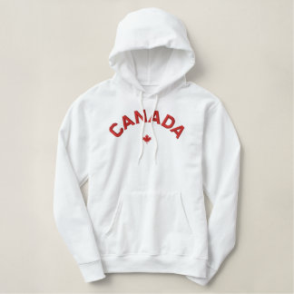 Canada Hoodie - Red Canada Maple Leaf