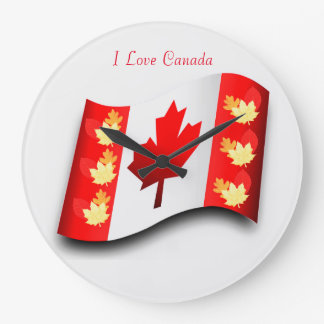 Canada image for Round-Large-Wall-Clock Large Clock