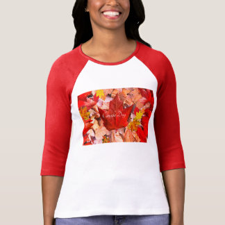 Canada image for Women's-T-Shirt-White-Red T-Shirt