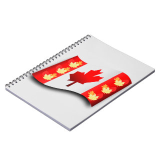 Canada image forPhoto-Notebook Spiral Notebook