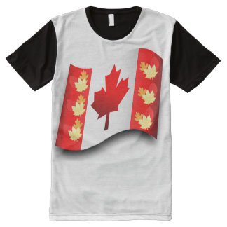 Canada image  Men's-All-Over-Printed-Panel-T-Shirt All-Over Print T-Shirt